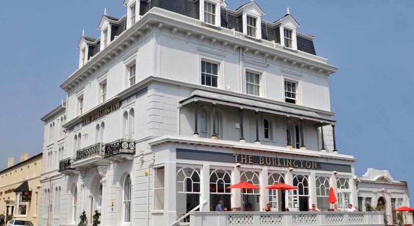 Burlington Hotel Worthing Menu